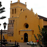 The principal church in Comitán, Chiapas, Mexico
