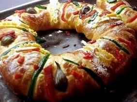 Rosca de Reyes, Kings' Ring Cake, for January 6